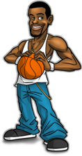 Basketball Betting Mascot