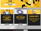 Betfair Screenshot Main Site
