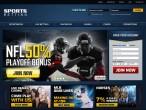 SportsBetting Screenshot Main Site