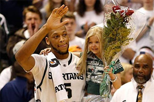 Adreian Payne and (Late) Lacey Holsworth