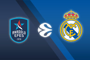 Anadolu Efes vs. Real Madrid