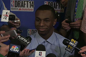 Andrew Wiggins NBA Draft Media Day