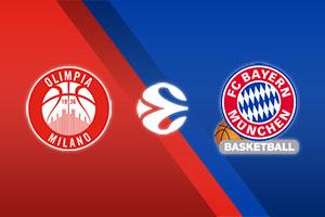 AX Armani Exchange Milan vs. Bayern Munich