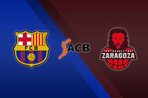 Barcelona vs. Zaragoza - ACB Spain
