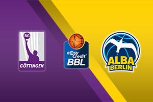 BG Gottingen vs. Alba Berlin