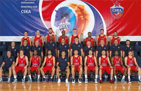 CSKA Moscow Team Photo 2015-2016