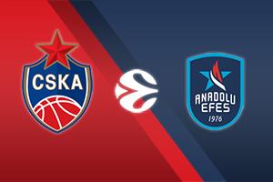 CSKA Moscow vs. Anadolu Efes Istanbul