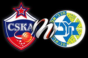 CSKA Moscow vs Maccabi Electra Tel Aviv - Preview F4 2014