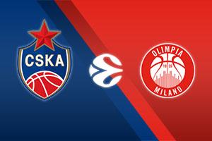 CSKA Moscow vs. Olimpia Milano