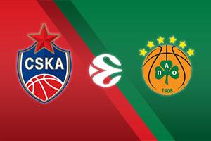 CSKA Moscow vs. Panathinaikos