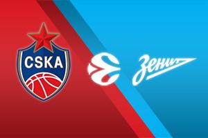 CSKA Moscow vs Zenit St Petersburg