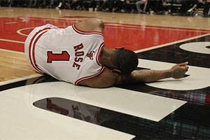 Derrick Rose Injury Torn ACL