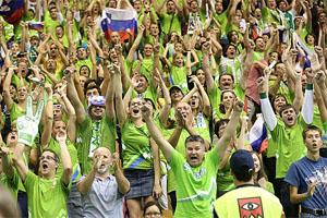 EuroBasket 2013 Slovenian Fans