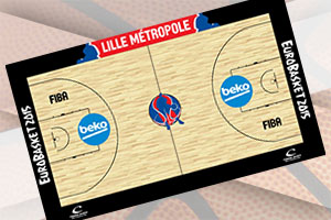 EuroBasket 2015 Lille Court