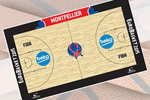 EuroBasket 2015 Montpellier Court
