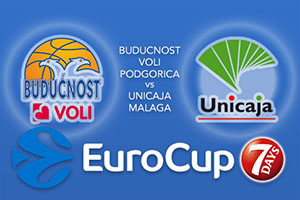 Bet on Buducnost VOLI Podgorica v Unicaja Malaga - Eurocup Betting Tips