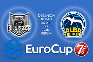 Bet on Dominion Bilbao Basket v ALBA Berlin - Eurocup Betting Tips