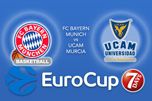 Bet on FC Bayern Munich v UCAM Murcia - Eurocup Betting Tips
