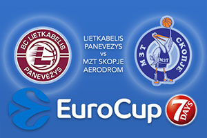 Bet on Lietkabelis Panevezys v MZT Skopje Aerodrom - Eurocup Betting Tips