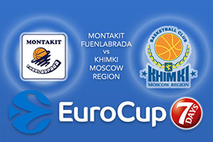 Bet on Montakit Fuenlabrada v Khimki Moscow Region - Eurocup Betting Tips