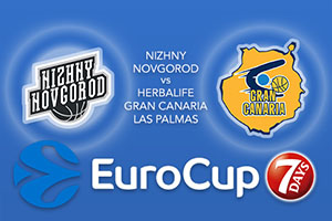 Bet on Nizhny Novgorod v Herbalife Gran Canaria Las Palmas - Eurocup Betting Tips