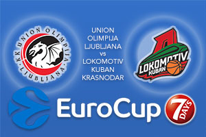Bet on Union Olimpija Ljubljana v Lokomotiv Kuban Krasnodar - Eurocup Betting Tips