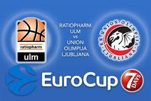 Bet on Ratiopharm Ulm v Union Olimpija Ljubljana - Eurocup Betting Tips