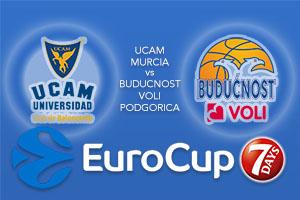 Bet on UCAM Murcia v Buducnost VOLI Podgorica - Eurocup Betting Tips