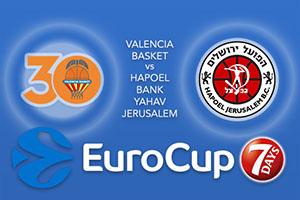 Bet on Valencia Basket v Hapoel Bank Yahav Jerusalem - Eurocup Betting Tips