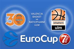 Bet on Valencia Basket v Ratiopharm Ulm - Eurocup Betting Tips