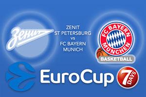 Bet on Zenit St Petersburg v Bayern Munich - Eurocup Betting Tips
