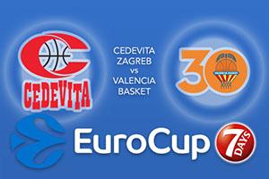 Cedevita Zagreb v Valencia Basket