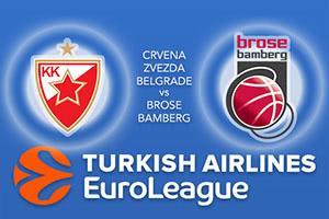 Crvena Zvezda mts Belgrade v Brose Bamberg