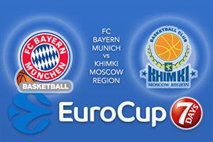 FC Bayern Munich v Khimki Moscow Region