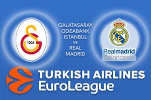 Galatasaray Odeabank Istanbul v Real Madrid
