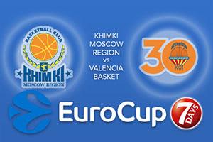 Khimki Moscow Region v Valencia Basket