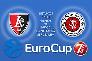 Lietuvos Rytas Vilnius v Hapoel Bank Yahav Jerusalem