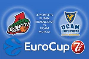 Lokomotiv Kuban Krasnodar v UCAM Murcia