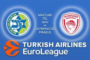 Maccabi FOX Tel Aviv v Olympiacos Piraeus