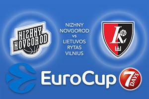 Nizhny Novgorod v Lietuvos Rytas Vilnius