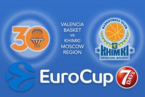 Valencia Basket v Khimki Moscow Region