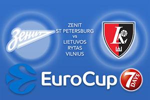 Zenit St Petersburg v Lietuvos Rytas Vilnius
