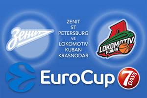 Zenit St Petersburg v Lokomotiv Kuban Krasnodar