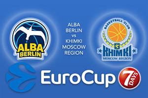 ALBA Berlin v Khimki Moscow Region - Eurocup Tips