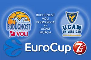Buducnost VOLI Podgorica v UCAM Murcia - Eurocup Betting Tips