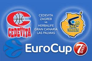 Cedevita Zagreb v Herbalife Gran Canaria Las Palmas - Eurocup Betting Tips