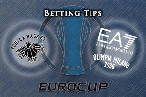 Dolomiti Energia Trento v EA7 Emporio Armani Milan Betting Tips