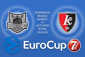 Dominion Bilbao Basket v Lietuvos Rytas Vilnius - Eurocup Tips