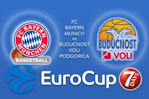 FC Bayern Munich v Buducnost VOLI Podgorica