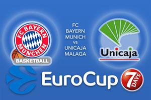 FC Bayern Munich v Unicaja Malaga